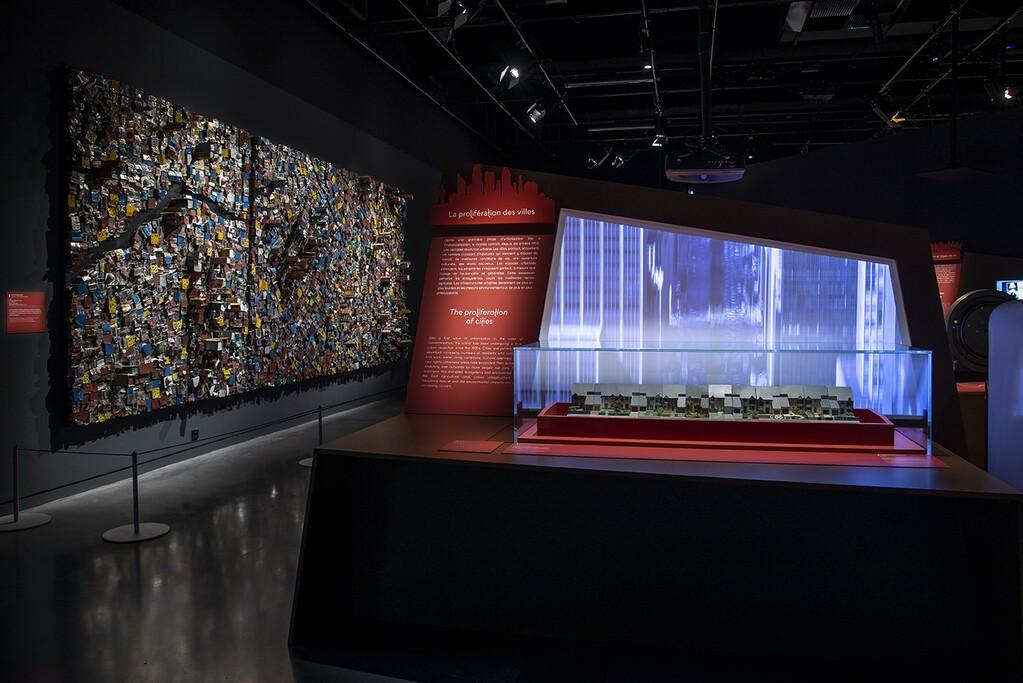 Exposition de maquettes au musée des Confluences à Lyon
