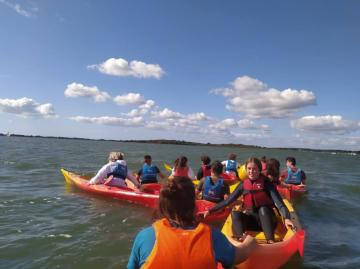 Sortie Kayak avec l'Association Sportive